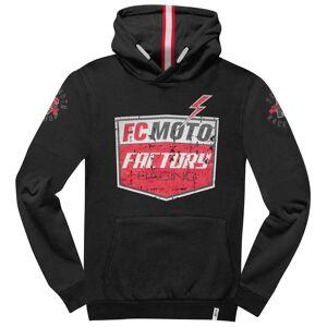 FC-Moto Crew-H Hoodie M Svart