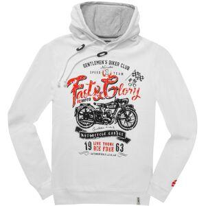 FC-Moto Fast and Glory Hoodie L Vit