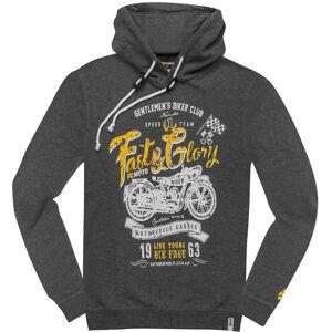FC-Moto Fast and Glory Hoodie M Grå