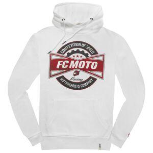 FC-Moto FCM-Fan Hoodie S Vit