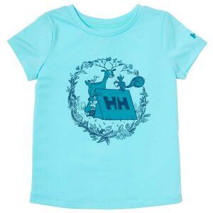 Helly Hansen K Alina Quick-dry T-shirt 122/7 Blue