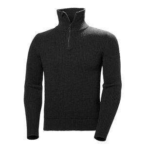 Helly Hansen Mens Marka Wool Sweater fleecejacka Svart M