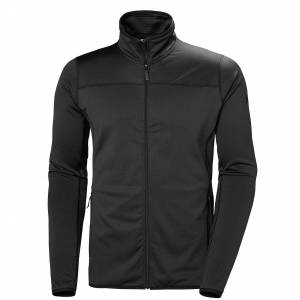 Helly Hansen Men's Vertex Hiking Fleece Jacket   M Black