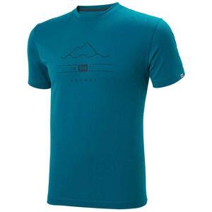Helly Hansen Skog Graphic Tshirt XXL Blue