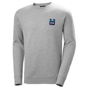 Helly Hansen Nord Graphic Crew Sweatshirt XXL Grey
