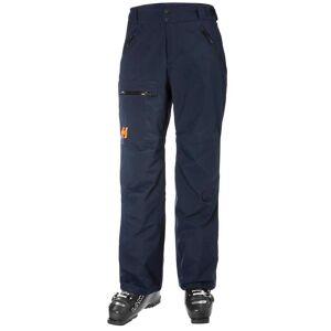 Helly Hansen Men's Sogn Insulated Cargo Ski Pants   M Navy