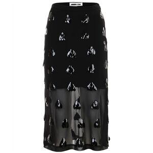 alexander mcqueen Embellished flared skirt
