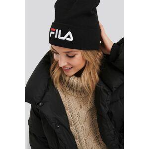 FILA Slouchy Beanie Leniar Logo - Black