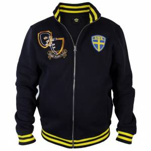 Collegejacka Sverige   HerrSMarinblå/Gul Marinblå/Gul