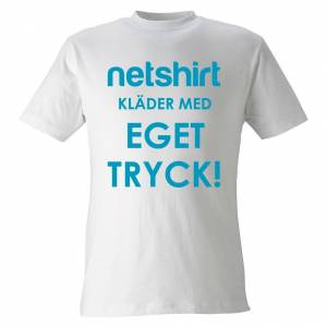 Netshirt - Designa T-shirt med eget tryckL