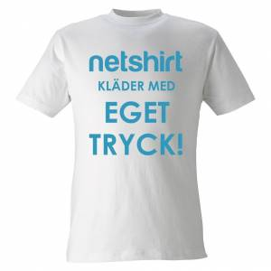 Netshirt - Designa T-shirt med eget tryck3XL