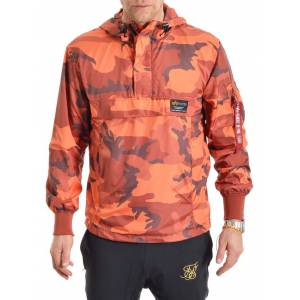 Alpha Industries Glider Anorak Orange Camo L