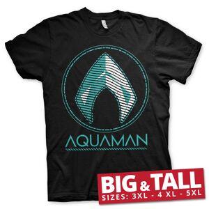 Aquaman - Distressed Shield Big Tall T-Shirt