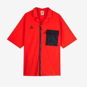 Nike Acg Ss Top för män i rött L Red