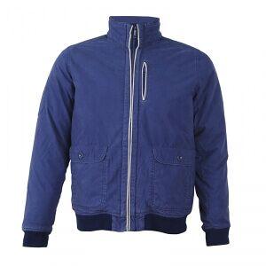 2117 of Sweden Axvall Cotton Street Jacket, navy, medium Streetjackor herr