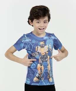 Camiseta Infantil Transformers Bumblebee Hasbro