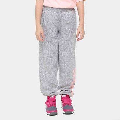 Calça Adidas Lk Lin Sweat Pants Infantil - Masculino-Cinza