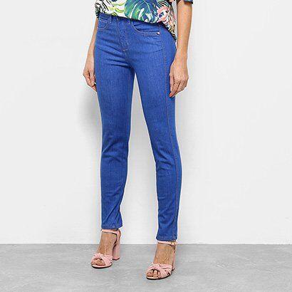 Calça Jeans Skinny Triton Special Cintura Média Feminina - Feminino-Jeans