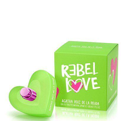 Perfume Rebel Love Feminino Agatha Ruiz de La Prada Eau de Toilette 30ml - Feminino-Incolor