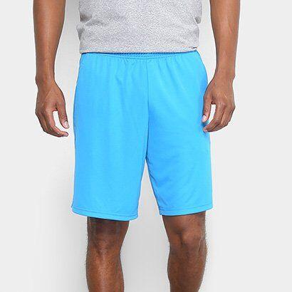Short Adidas Bermuda Plain - Masculino-Azul+Preto