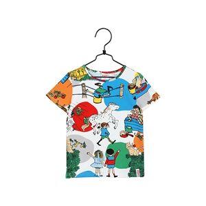 Pippi Långstrump Pippi Langstrømpe I Villekulla T-shirt Hvid 110