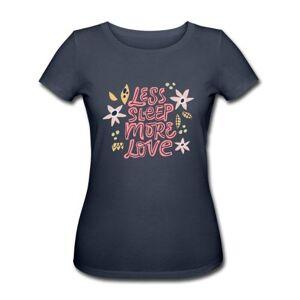 "Buump T-Shirt Økologisk Gravid - ""Less Sleep, More Love"""