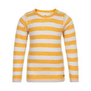 CeLaVi Uldbluse Med Striper - Mineral Yellow - Str. 120
