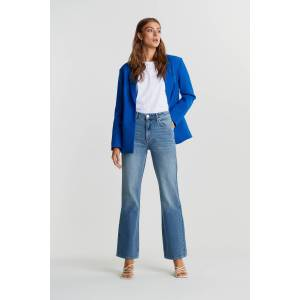 Gina Tricot Vintage flare jeans Female Dk blue 34