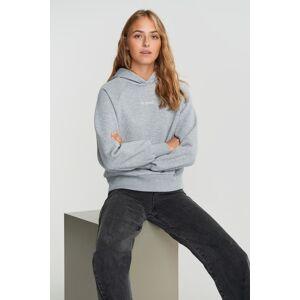 Gina Tricot Ellen hoodie Female Greymel/good (8441) XS