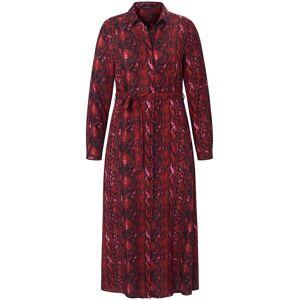 Emilia Lay Skjortekjole lange ærmer Fra Emilia Lay rød