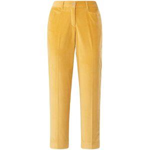 Brax Slim Fit 7/8-buks i bredriflet fløjl model Mara S Fra Brax Feel Good gul