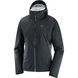 Salomon Women's Lightning Waterproof Jacket Sort Sort L
