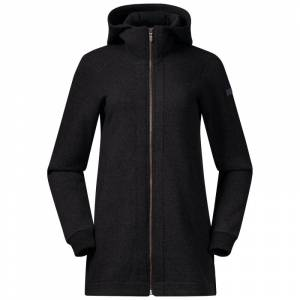 Bergans Oslo Wool Women's Coat Sort Sort L