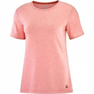 Salomon Women's Essential SS Tee Pink Pink M