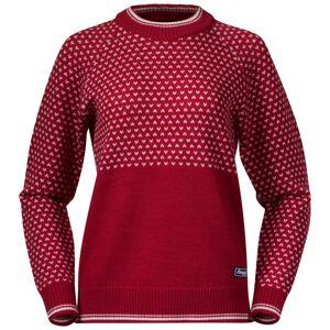 Bergans Alvdal Wool Women's Jumper Rød Rød XS