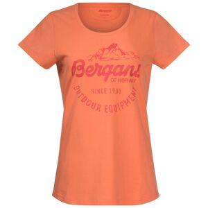 Bergans Classic Women's Tee Orange Orange S
