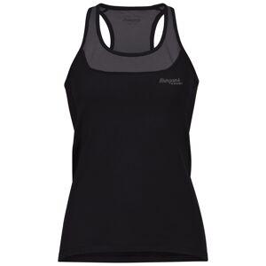 Bergans Cecilie Active Wool Singlet Sort Sort S