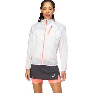 Asics Women's Fujitrail Jacket Hvid Hvid XS