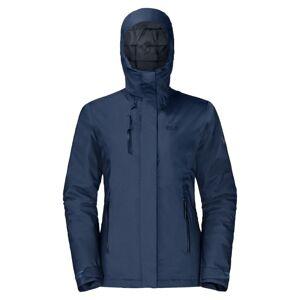 Jack Wolfskin Women's Troposphere Jacket Blå Blå M