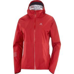 Salomon Women's Bonatti Waterproof Jacket Rød Rød M