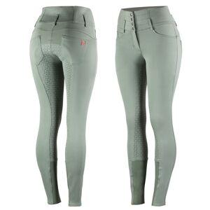 Horze Tara Dameridebukser med fuld silikone og høj talje