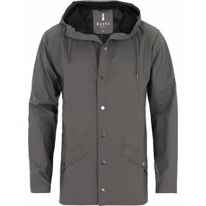 RAINS Jacket Charcoal men S/M Grå