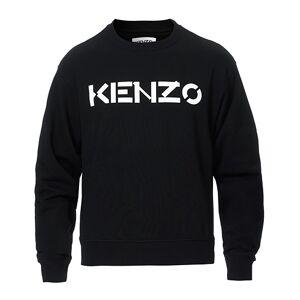Kenzo Logo Crew Neck Sweatshirt Black men L Sort
