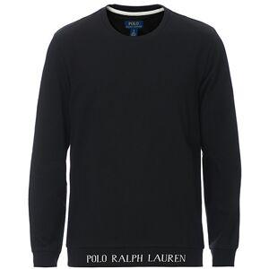 Polo Ralph Lauren Logo Crew Neck Sweatshirt Black men S Sort