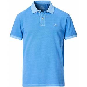 GANT Sunbleached Polo Pacific Blue men XXL Blå