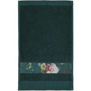 Essenza Badehåndklæde - 70x140 Cm - Mørkegrøn - 100% Bomuld