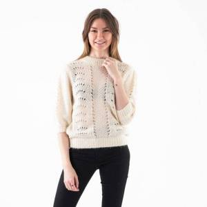 NA-KD Short balloon sleeve knit