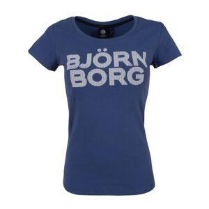 Björn Borg Sport Tamira SS Tee - Navy-2 * Kampanja *  - Size: 021140-011001-641 - Color: Merensininen