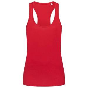 Stedman Active 140 Tank - Red  - Size: ST8540 - Color: punainen