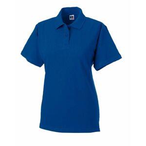 F Classic Cotton Polo - Royalblue  - Size: 569F - Color: royalsininen